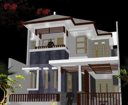 Desain Rumah 2 Lantai Idaman Sederhana Minimalis Cek Bahan Bangunan
