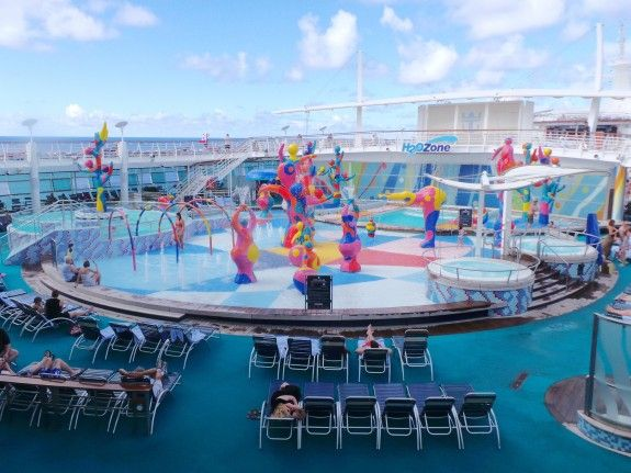 H2O Zone Water Park for Kids on Royal Caribbean's #FreedomOfTheSeas. - Just one of the 6 Reasons to Take Your Kids on a Royal Caribbean Cruise, at treerootandtwig.com.