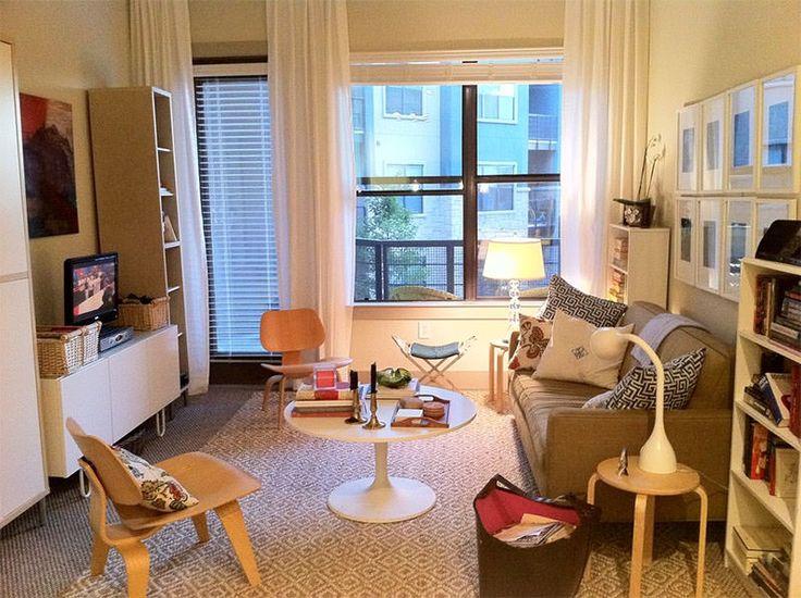 Como Arrumar Os Móveis Em Uma Sala Pequena. Small Room DecorSmall Living  Room DesignsSmall Space ... Part 75