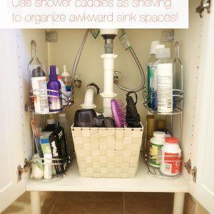 Organizing Ideas For Bathroom Closet