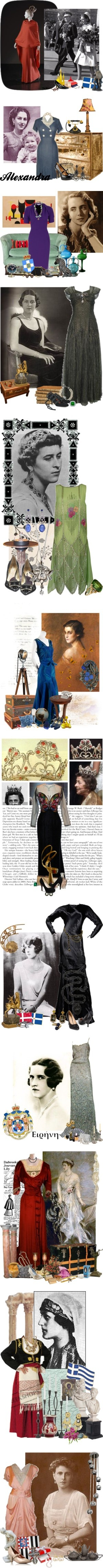 """Modern Greek Royalty & Nobility"" by sh0shan ❤ liked on Polyvore"