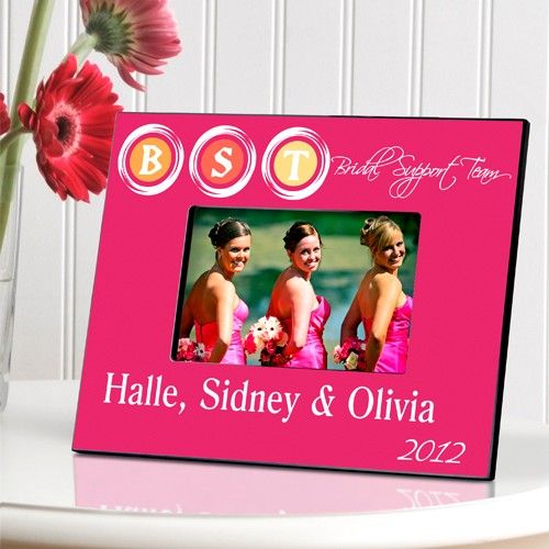 Bridal Support Team Picture Frame - Gifts for the Bride - Wedding Party Gifts