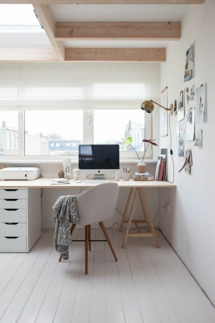 Eckschreibtisch weiß design  Die besten 25+ Schreibtisch weiß holz Ideen auf Pinterest | Möbel ...