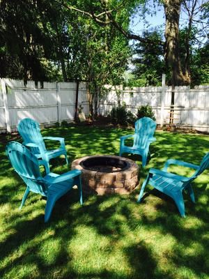 adirondack chair resin. Craftsman Patio With Adams Mfg Corp Teal Resin Stackable Adirondack Chair, Etsy Indoor / Outdoor Bolster Neck Roll Pillow | Porch Pinterest Chair L