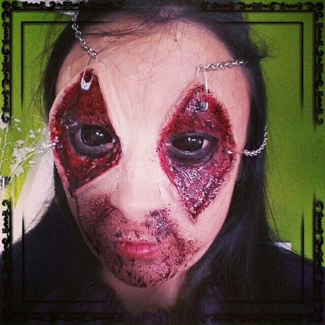 Vero 2 halloween 2014. Makeup
