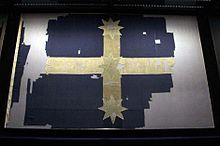 Original Eureka Flag; Eureka Rebellion of 1854 was a historically significant organised rebellion of gold miners of Ballarat, Victoria, Australia, who revolted against the colonial authority of the United Kingdom. The Battle of the Eureka Stockade (by which the rebellion is popularly known) was fought between miners and the Colonial forces of Australia on 3 December 1854 at Eureka Lead and named for the stockade structure erected by miners during the conflict.