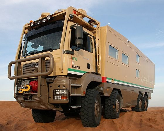 Unicat is the best company to build these off road RV's.