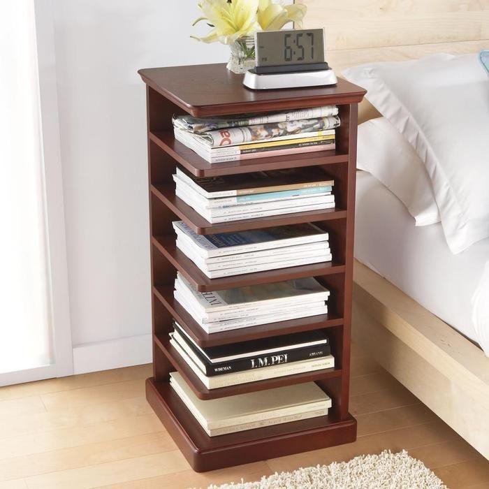 Bedside table/bookshelf.  Perfect!