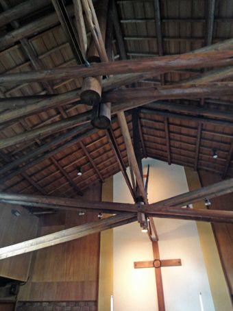 聖オルバン教会(設計:アントニン・レーモンド)に行きました。(その2) : 日日日影新聞 (nichi nichi hikage shinbun)