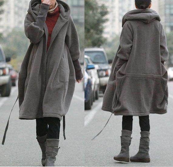 Free Style Zip Hoodie Jacket con fodera di cotone / di Ramies