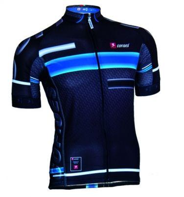 Camisola de Ciclismo X3 Pro em Fio de Carbono  -  X3 Cycling Jersey Pro in Carbon Fiber -  Maillot de Ciclismo Pro en Hilo de Carbono