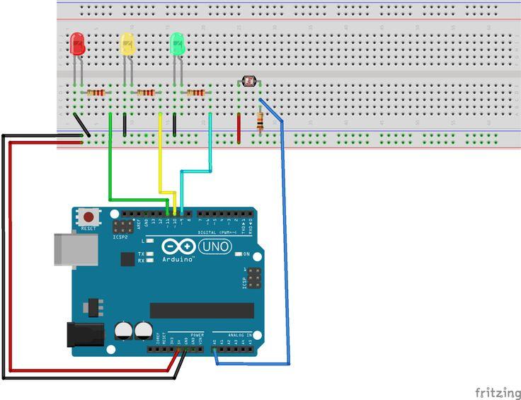 Arduíno Sensor LDR - Sensor de Luz
