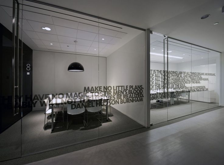 Quotes on glass could be our mission statement or values