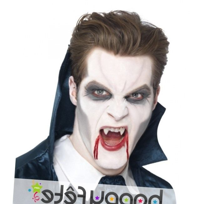 Maquillage halloween facile vampire - Maquillage halloween facile homme ...