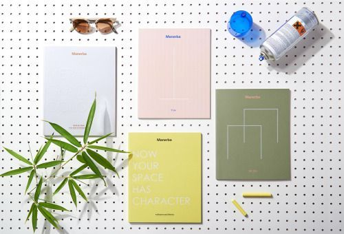 """Manerba Office System Catalogues Design by La Tigre""""Each..."""