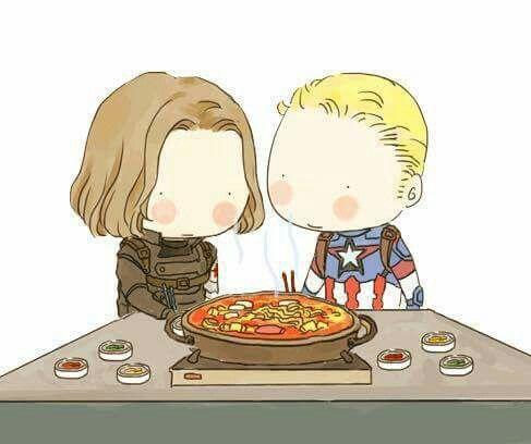 noodle soup   Bucky and steve, Bucky barnes winter soldier ...