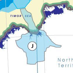 Wyndham State (capital Kununurra) based on the flow of water
