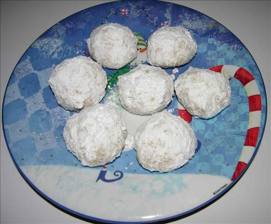 Cashew Snowballs. Photo by GrandmaIsCooking