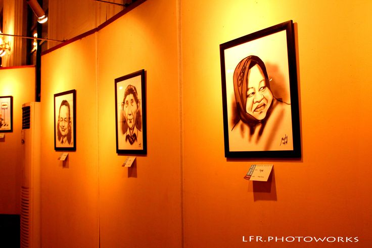 """Our Politicians in Caricature""  (Museum Seni Rupa & Keramik Jakarta)"
