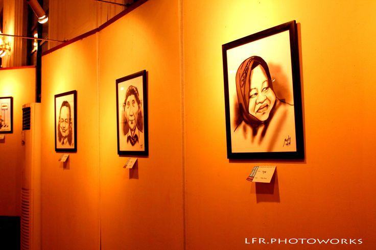 """Our Politicians in Caricature""  (Museum Seni Rupa & Keramik Jakarta)"