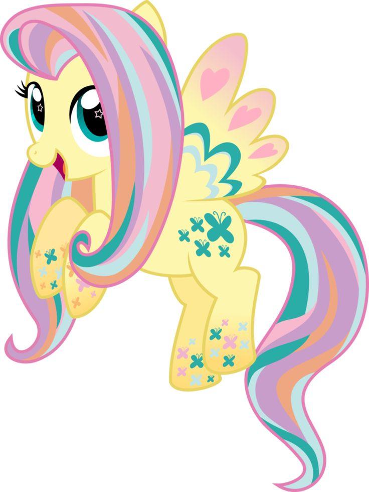 Rainbowfied Fluttershy | My Little Pony: Friendship is ...