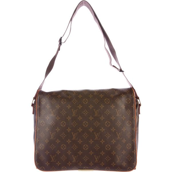 Pre-owned Louis Vuitton Monogram Abbesses Messenger Bag (52.955 RUB) ❤ liked on Polyvore featuring men's fashion, men's bags, men's messenger bags, brown, mens brown leather messenger bag, mens courier bag, mens messenger bags and louis vuitton mens messenger bag