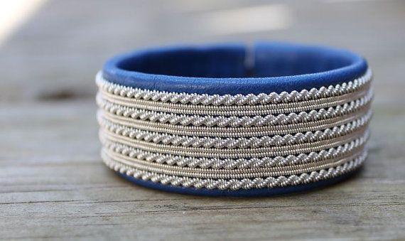 Sami bracelet viking bracelet made in Sweden by ACDesignJewellery