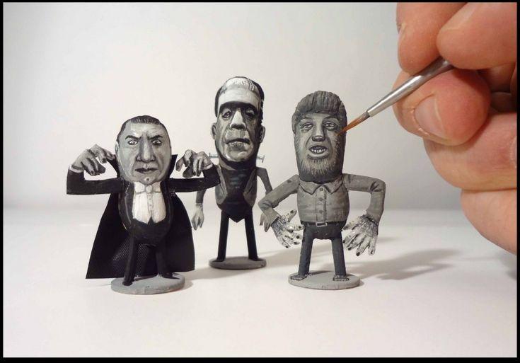 ArachidiStar | Dracula, Frankenstein, Licantropo | Steve Casino