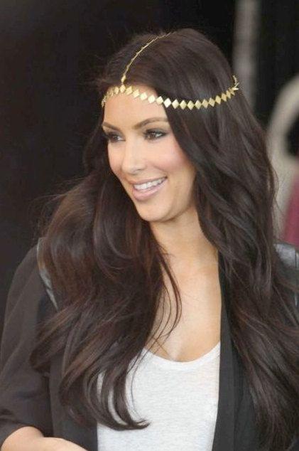 Stunning Celebrity Fashion Hera Greek Dess Hair Chain Head Arabian Jewellery