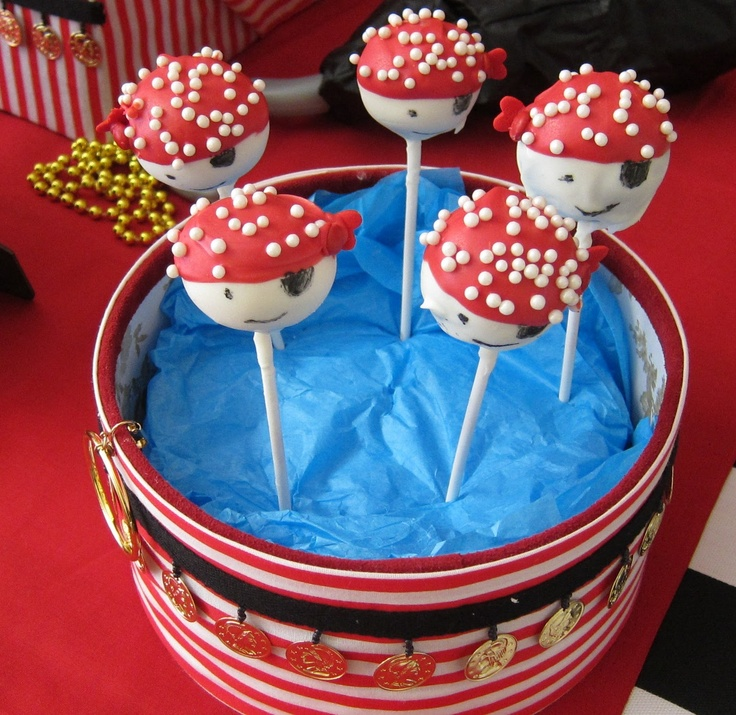 how to make pirate cake pops