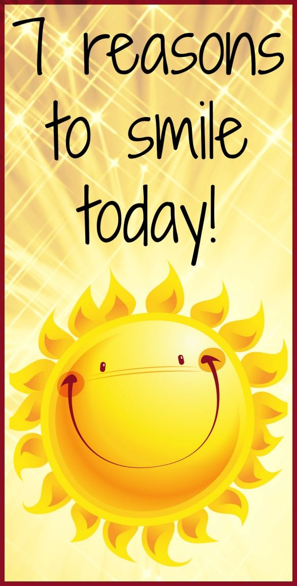 Get happy with these seven reasons to smile right now! :) #grin ...