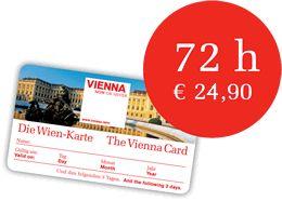 Vienna Card 72 heures