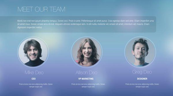 iOS 7 Style Keynote Theme Design on Behance