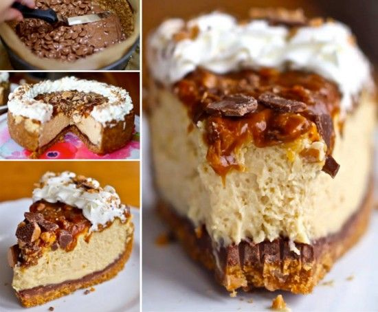 Caramel Toffee Crunch Cheesecake | The WHOot