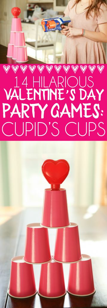 14 Hilarious Valentine Party Games  Valentines Day Party -5323