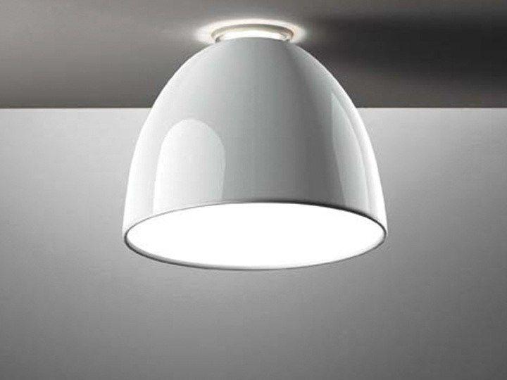 NUR GLOSS Ceiling lamp Nur Collection by Artemide Italia design Ernesto Gismondi