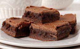 Receitas para celíacos: brownie de chocolate sem glúten.
