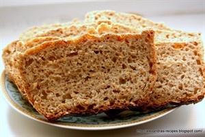 Wheat Bread Rye // Chleb żytnio-pszenny na zakwasie z ziarnami