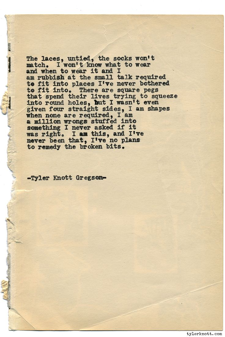 Typewriter Series #1379 by Tyler Knott GregsonCome say hello @TylerKnott on Instagram, Facebook, and Twitter!