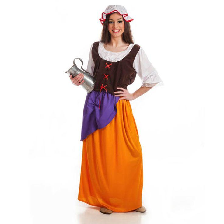 Déguisement Serveuse Médiévale Adulte #déguisementsadultes #costumespouradultes #nouveauté2016