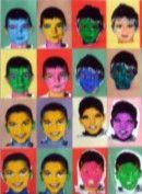 Arts Visuels Ecole PS MS GS CP CE1 CE2 CM1 CM2 : Portraits répétés Warohl