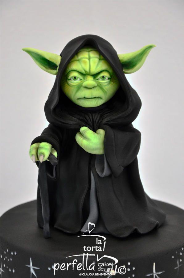 Yoda Star Wars Cake by La torta perfetta