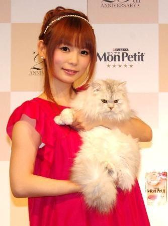 中川翔子「あっちゃんは輝く存在」 愛猫家しょこたん、猫の魅力を語る