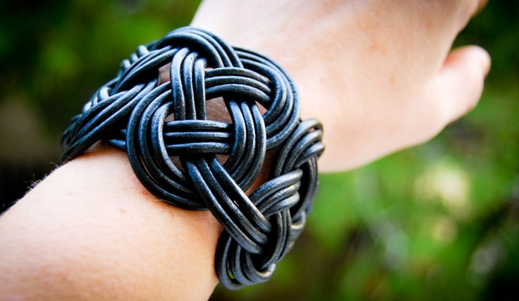 my favorite leather bracelet...i love it!