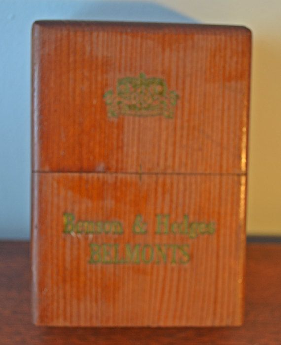 Check out this item in my Etsy shop https://www.etsy.com/ca/listing/509922135/cigar-box-benson-and-hedges-belmonts