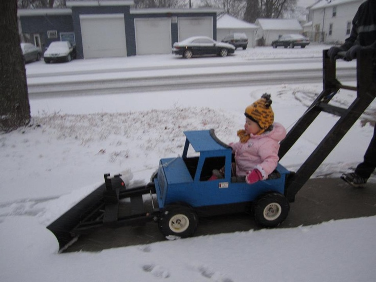 Ride In Plow Truck My Creations Pinterest Dress Up