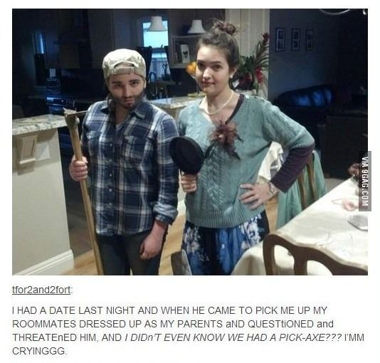 I want to be these roommates.