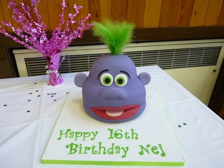 Jeff Dunham Peanut Birthday Cake