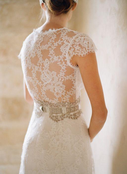Claire Pettibone, Lace back dress: Wedding Dressses, Clear Pettibone, Wedding Ideas, Wedding Dresses, Wedding Gown, Lace Wedding, Dream Wedding, Lace Back