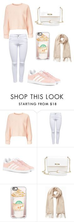 """""""Untitled #115"""" by merria-zion on Polyvore featuring Miss Selfridge, adidas Originals, Casetify and Vero Moda"""